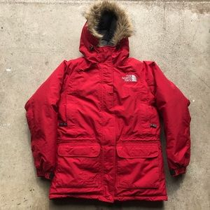 Vintage North Face Goose Down Puffer Parka